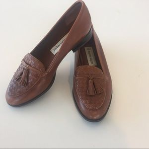 Etienne Aigner Ally brown loafers shoe